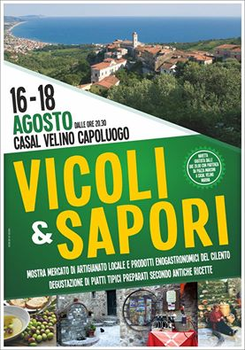 Vicoli e Sapori a Casal Velino 2016