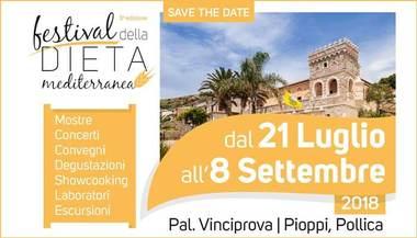 estival della Dieta mediterranea a Pioppi dal 21 luglio all'8 Settembre