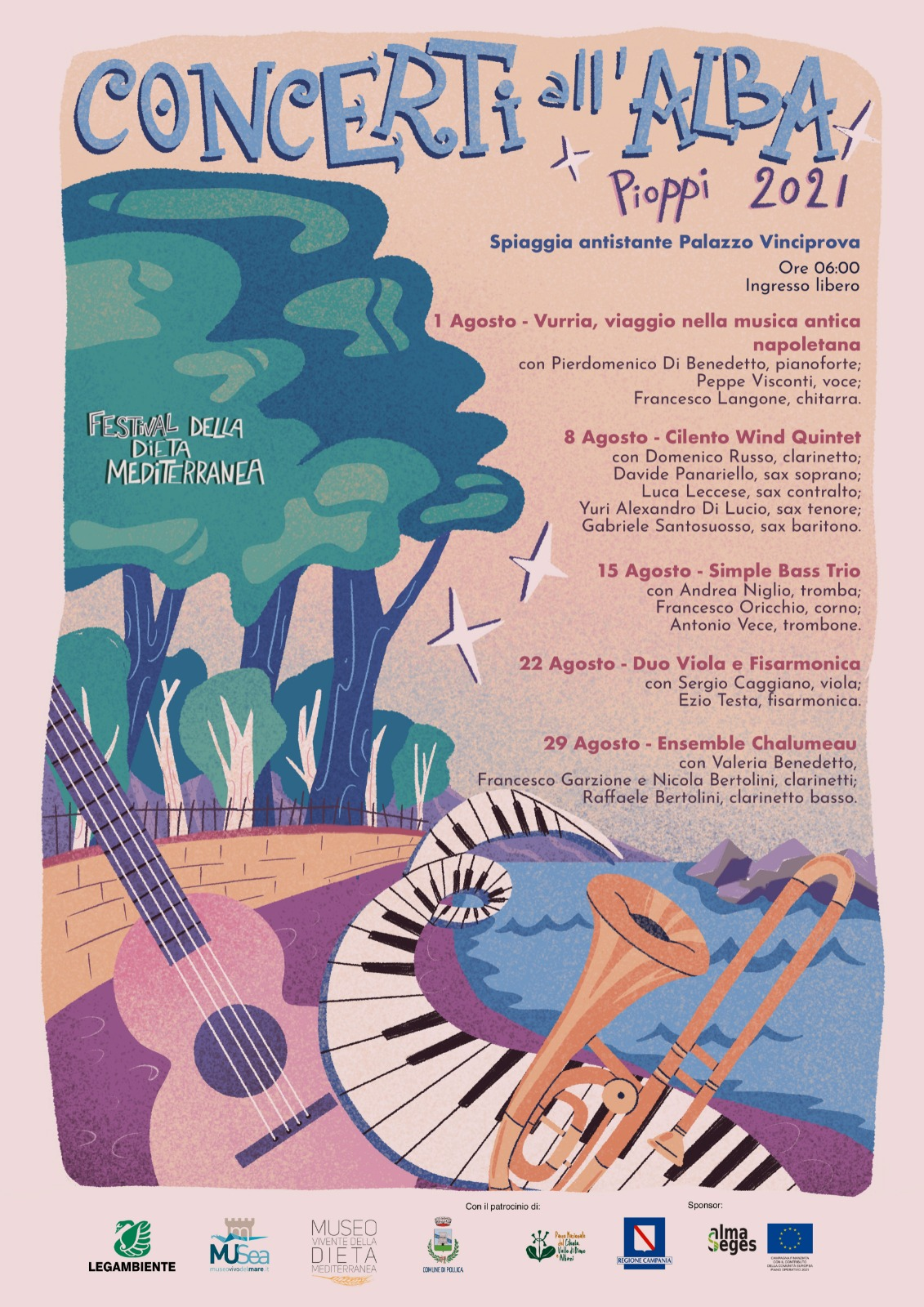 La sesta edizione del Festival della Dieta Mediterranea a paritre dal 30 luglio