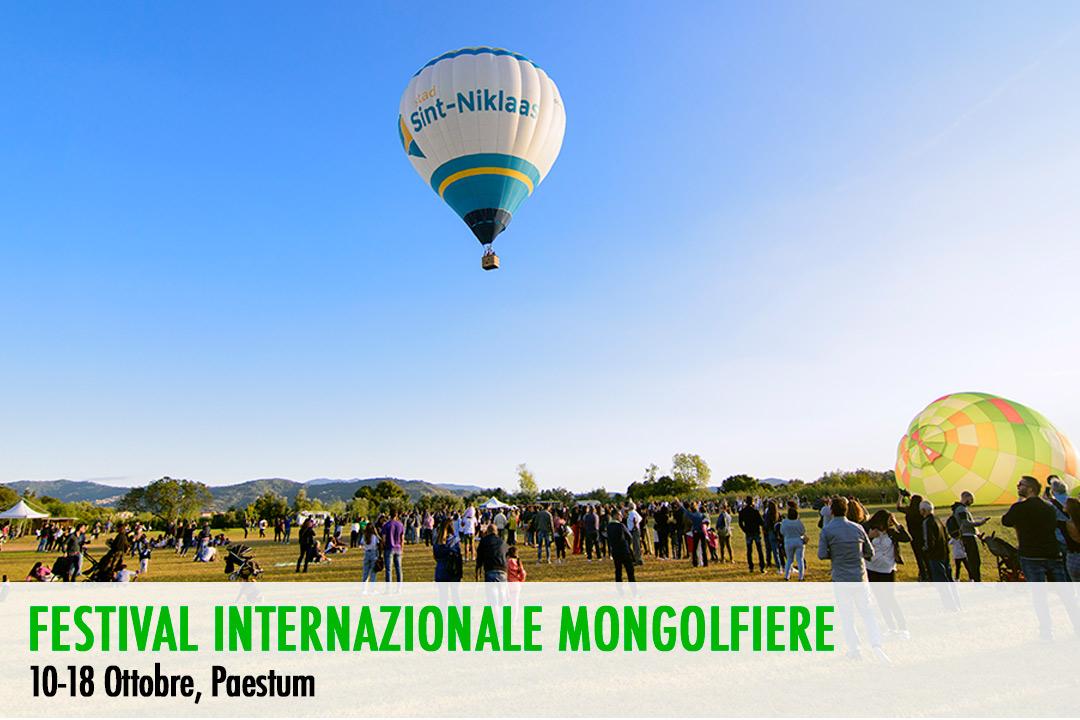 Festival Internazionale delle Mongolfiere a Paestum a partire dal 10 Ottobre