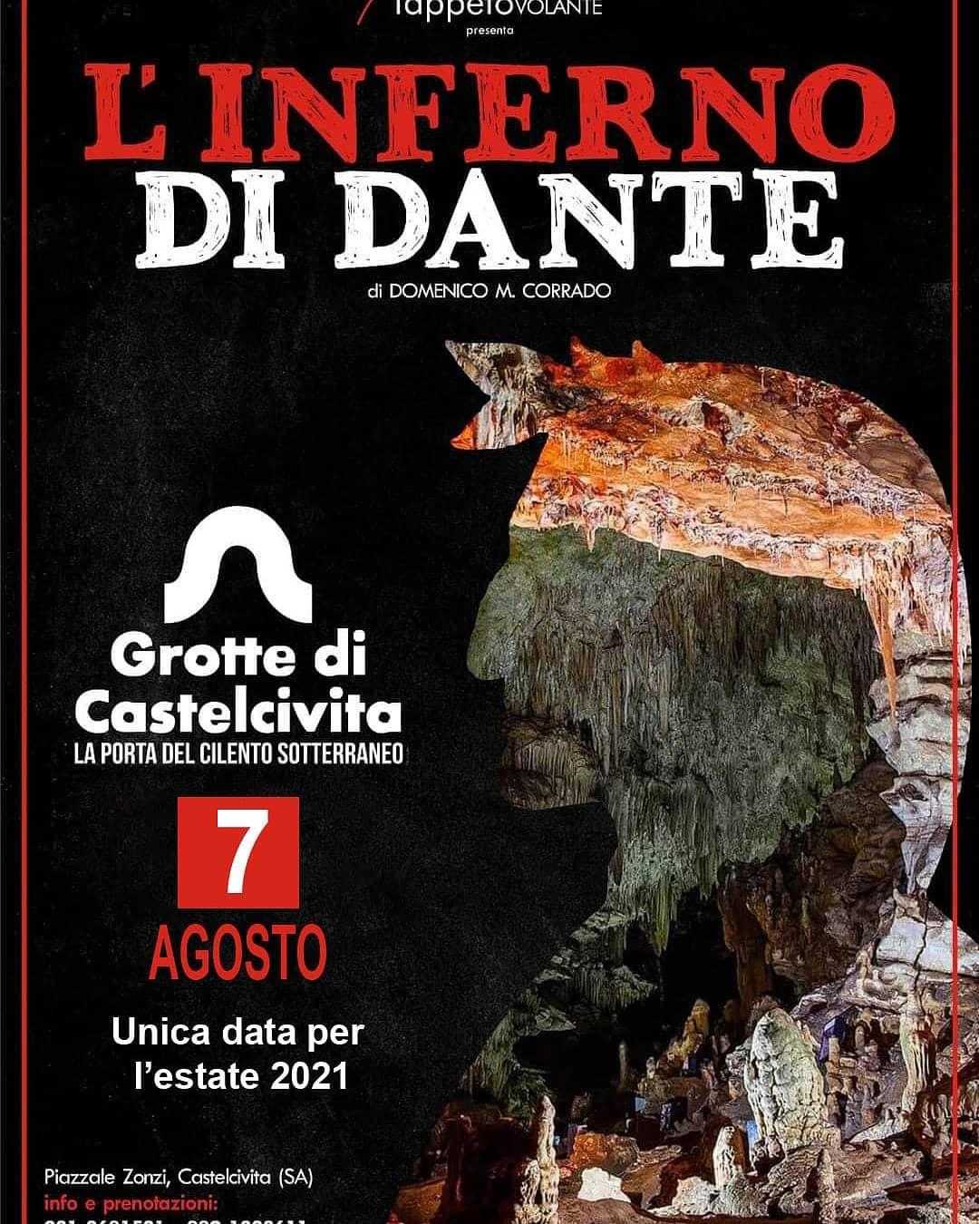 A Castelcivita va in scena L'Inferno di Dante