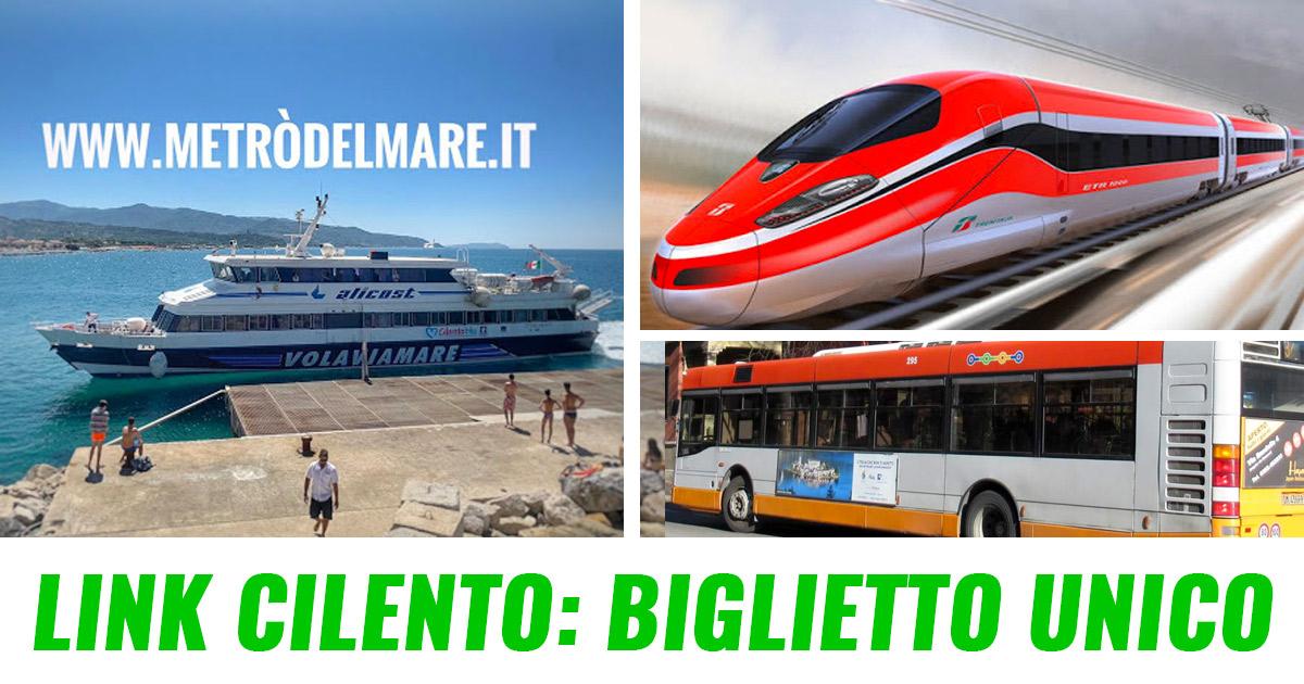 Link Cilento: un biglietto unico per treni, autobus e ...