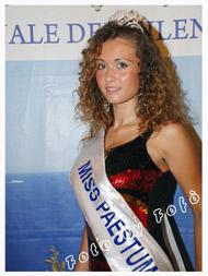 Marika Basile Miss Paestum 2012
