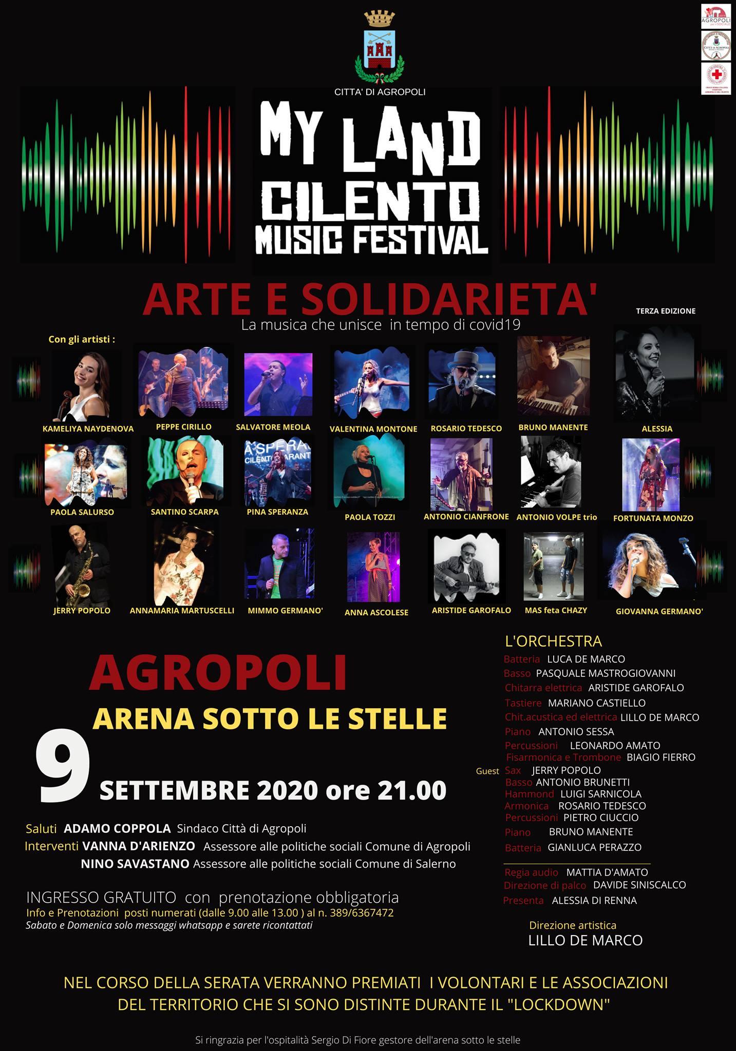 My Land Cilento Music Festival