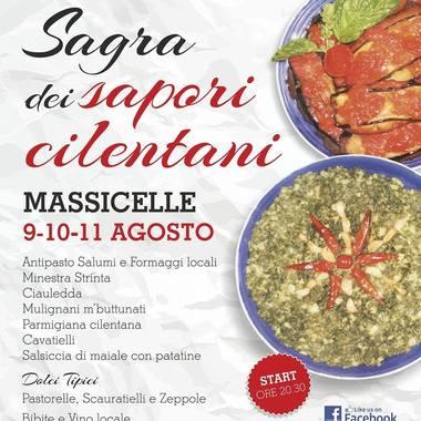 Sagra dei sapori cilentani a Massicelle dal 9 al 11 Agosto