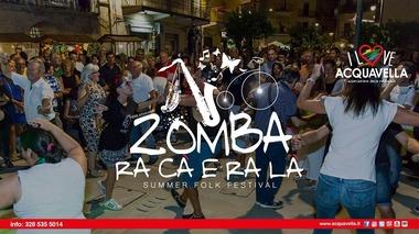 Zomba ra cà e ra là dal 11 al 13 Agosto ad Acquavella