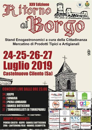 ritorno al_borgo a Castelnuovo Cilento 2019